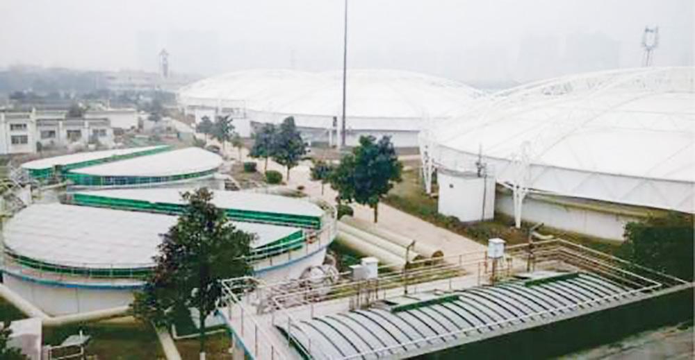 武汉市汉西汚水处理厂改扩建工程